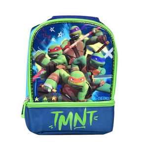 Thermos TMNT Lunch Bag, Insulated Lunch Bags For Kids, Lunch Box For Kids, Teenage Mutant Ninja Turtles Dual Compartment Lunch Kit