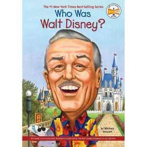 Who Was Walt Disney? (Paperback) (Whitney Stewart)