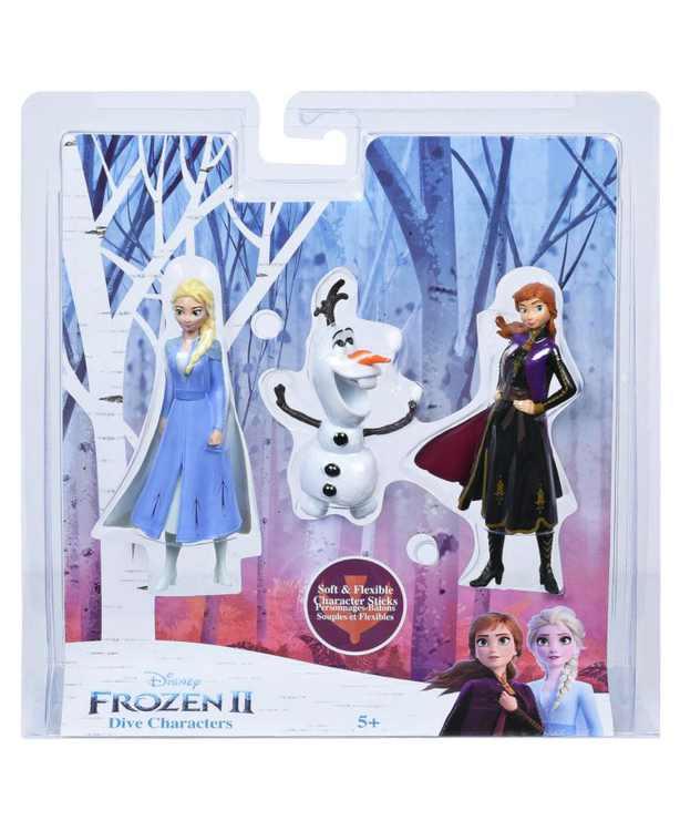 Frozen 2 Dive Characters- 3 PK
