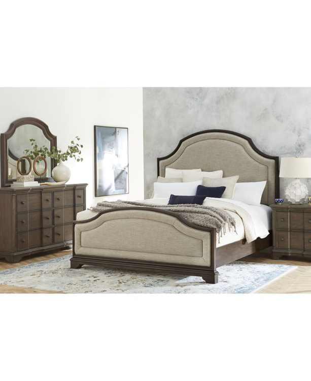 Stafford Bedroom 3-Pc. Set (Queen Bed, Dresser, Nightstand), Created for Macy's
