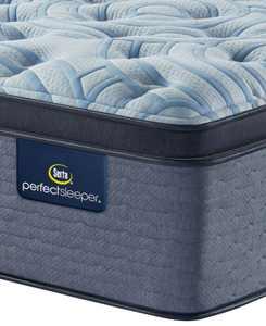 """Perfect Sleeper Luminous Sleep 17.5"""" Medium Firm Pillow Top Mattress- Twin XL"""