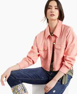 Cropped Drop-Shoulder Jacket, Created for Macy's