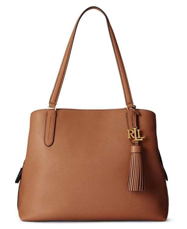 Quinn Large Leather Shoulder Bag