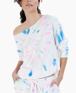 Cotton French Terry Pajama Top, Created for Macy's