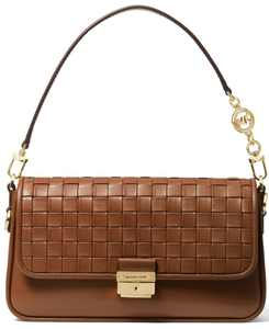 Bradshaw Woven Leather Convertible Shoulder Bag