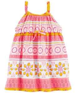 Baby Girls Tank Jersey Dress