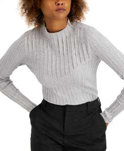 INC Rhinestone Mock-Neck Sweater, Created for Macy's