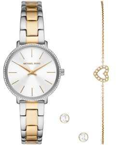 Women's Pyper Two-Tone Stainless Bracelet Watch 32mm Gift Set