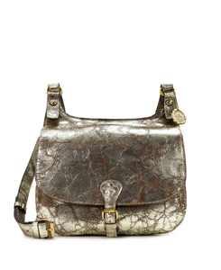 London Smooth Leather Saddle Bag