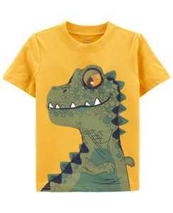 Toddler Boys Dino Knit T-shirt
