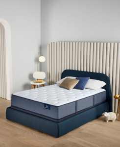 "Perfect Sleeper Cozy Escape 13"" Plush Mattress Set- Queen"