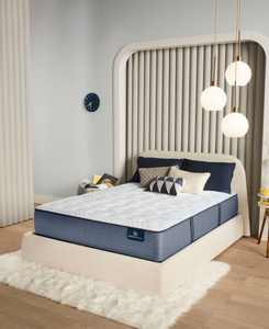 "Perfect Sleeper Renewed Night 13"" Extra Firm Mattress Set- Full"