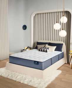 "Perfect Sleeper Renewed Night 13"" Extra Firm Mattress Set- Twin XL"