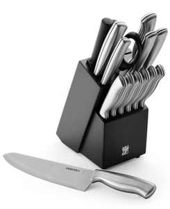15-Pc. Stamped Stainless Steel Cutlery Set