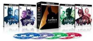 Batman 4K Film Collection (4K Ultra HD + Blu-ray)
