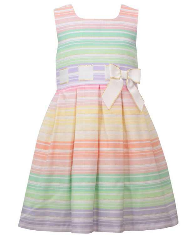 Toddler Girls Sleeveless Waistline Dress