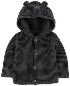 Baby Boys Hooded Cardigan