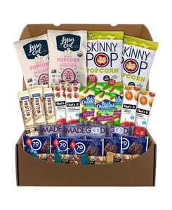 Low-Calorie Snack Box, 28 Piece