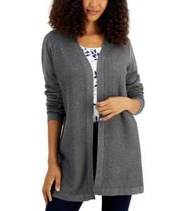 Chevron Duster Cardigan, Created for Macy's