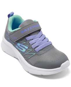 Little Girls Microspec - Bold Delight Stay-Put Closure Running Sneakers from Finish Line