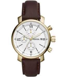 Men's Rhett Chronograph Brown Stainless Steel Watch 42mm