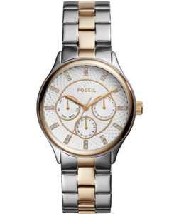 Women's Modern Sophisticate Multifunction Two Tone Stainless Steel Watch 36mm