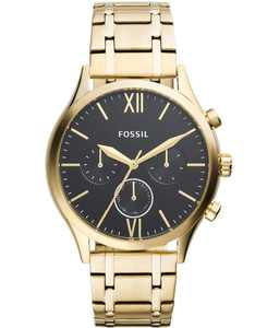 Men's Fenmore Multifunction Gold-Tone Bracelet Watch 44mm