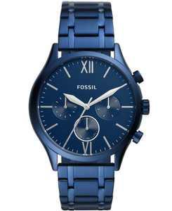 Men's Fenmore Multifunction Blue Bracelet Watch 44mm