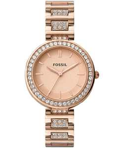 Women's Karli Three Hand Rose Gold Stainless Steel Watch 34mm