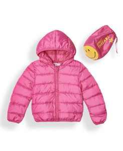 Little Girls Water-resistant Packable Pals Jacket