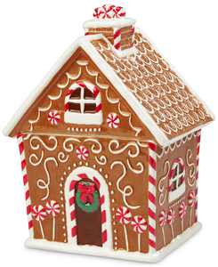 Gingerbread House Cookie Jar, Created for Macy's