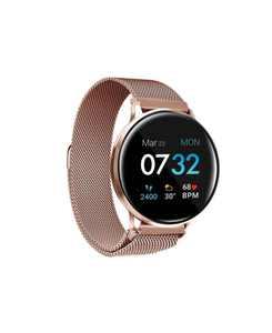 Women's Sport 3 Rose Gold-Tone Mesh Strap Fitness Tracker Smartwatch, 45mm