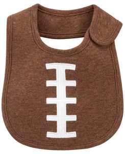 Baby Boys and Girls Football Teething Bib