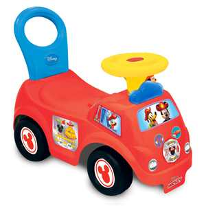 Kiddieland Toys Limited - Lights n' Sounds Mickey Fire Engine Rider