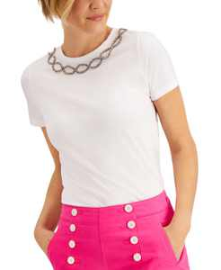Embellished T-Shirt, Created for Macy's