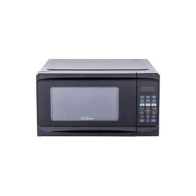 Sunbeam 0.7 cu ft 700 Watt Microwave Oven - Black - SGCMV807BK-07