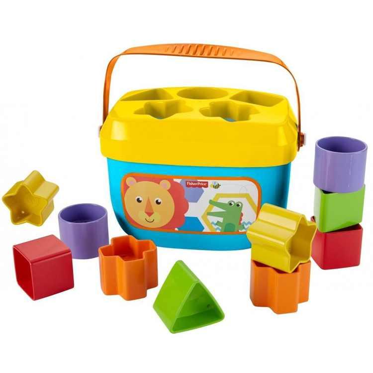 Fisher-Price Baby's First Blocks with Storage Bucket