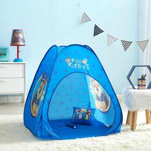 Paw Patrol Pop Up Tent Set with Pillow and Flashlight