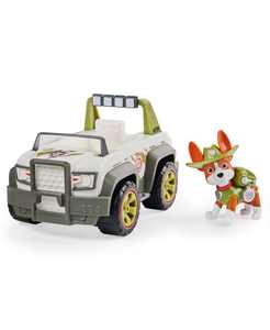 Tracker's Jungle Cruiser Vehicle with Collectible Figure for Kids Aged 3 and up