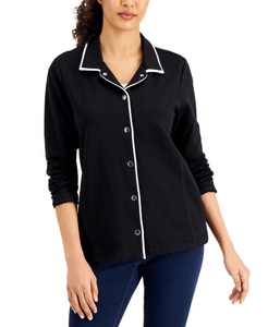 Piped Collared Jacket, Created for Macy's