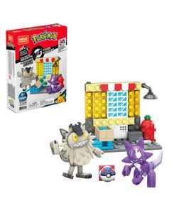 114 Piece Pokemon Toxel Vs. Galarian Meowth Building Set