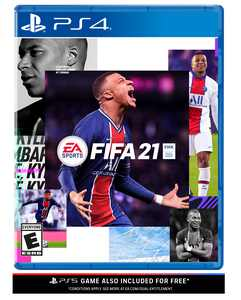 FIFA 21, Electronic Arts, Playstation 4, Physical Edition