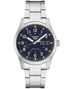 Men's Automatic 5 Sports Stainless Steel Bracelet Watch 43mm