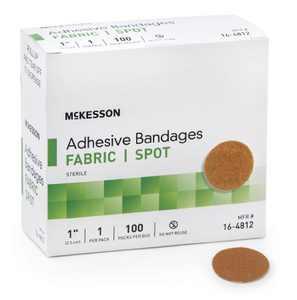 "McKesson Medi Pak Performance Bandage 1""round 2 Boxes Of 100 count (2)"