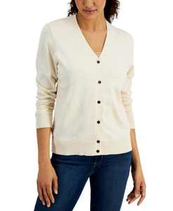 V-Neck Button Cardigan, Created for Macy's