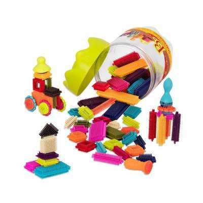 B. toys Educational Building Set - Bristle Block Stackadoos