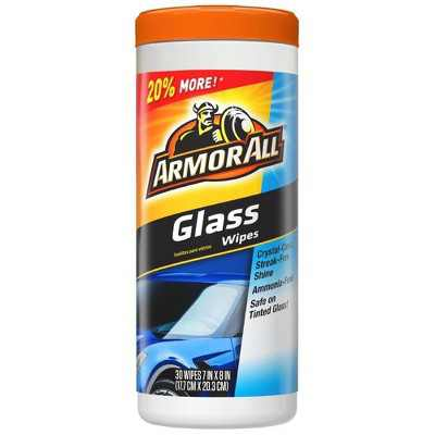 Armor All 30ct Automotive Glass Cleaner Wipes