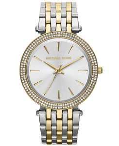 Women's Darci Two-Tone Stainless Steel Bracelet Watch 39mm MK3215