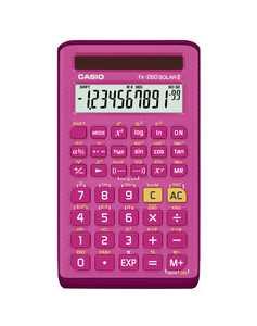Casio FX-260 SOLARII-PK Scientific Calculator, 10-Digit Display, Pink