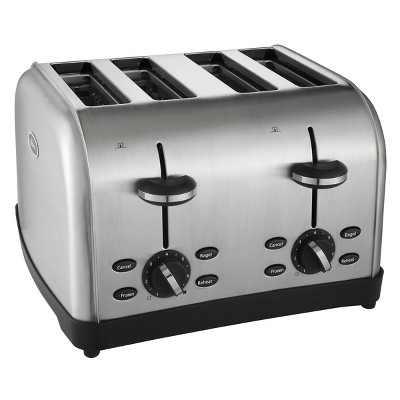 Oster 4 Slice Stainless Steel Toaster, TSSTRTWF4S